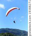 滑翔傘 天空體育 飛行 19388271