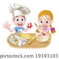 Kids Baking 19393103
