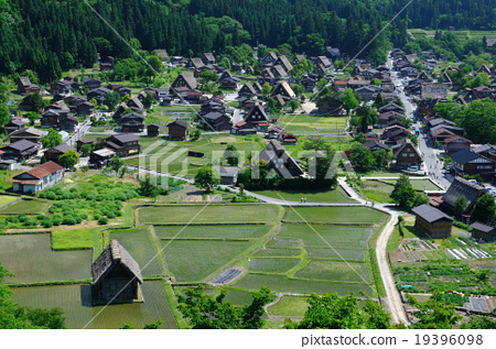 Summer Shirakawa Town 19396098