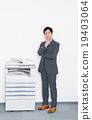 businessman, copy, machine 19403064