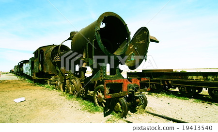 Bolivian train graveyard 19413540