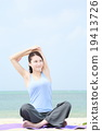 yoga, female, females 19413726