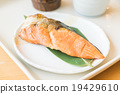 Grilled salmon 19429610