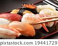 寿司 小虾 龙虾 19441729