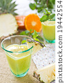 Pineapple and orange smoothie 19442554