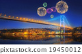 istanbul, cityscape, fireworks 19450012