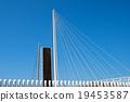 drawbridge, open, blue 19453587