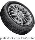 tyre, tire, vector 19453667