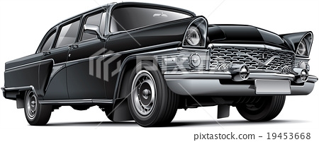 Soviet luxury car 19453668