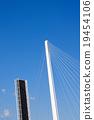 drawbridge, open, blue 19454106