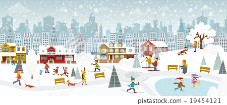 Weekend in the City (Winter) 19454121