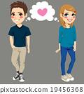 Teenagers In Love 19456368