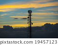 Phone antenna in twilight time 19457123