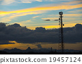 Phone antenna in twilight time 19457124