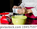 sifting flour 19457597