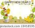 新年賀卡 表演 演奏 19458595