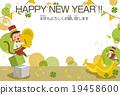 新年賀卡 表演 演奏 19458600