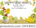 新年賀卡 表演 演奏 19458602