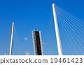 drawbridge, open, blue 19461423