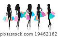 女人 女性 侧影 19462162