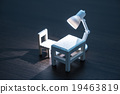 의자, 미니어처, 라이트 19463819