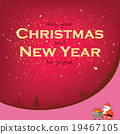 Santa for Christmas and New Year 19467105
