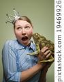 冠 女人 肖像 19469926