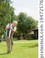 高尔夫 老年人 男人 19472576