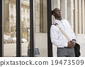 男人 青少年 单肩包 19473509