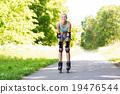 woman, roller, skates 19476544