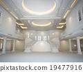 3d interior render of  luxury hall 19477916
