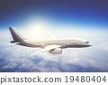 airplane, cloud, flight 19480404