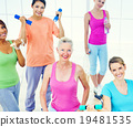 fitness, gym, people 19481535