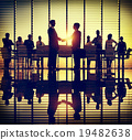 Business People Meeting Discussion Handshake Greeting Concept 19482638
