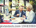 Business Meeting Conference Seminar Working Team Concept 19483069