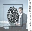 Fingerprint Identification Individuality Investigation Concept 19483472