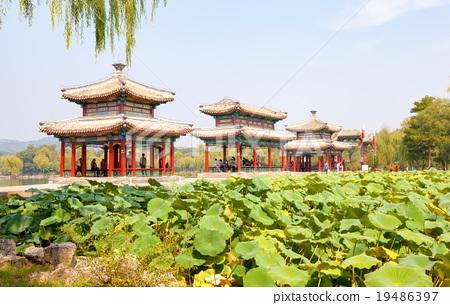 Chengde imperial summer resort scenery 19486397