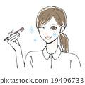 牙刷 口腔護理 女性 19496733