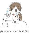 牙膏 牙粉 女性 19496735