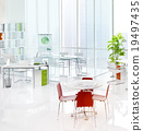 Office Green Business Working Area Meeting Table Concept 19497435