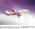 Airplane Plane Flying Aircraft Transportation Travel 19497772