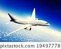 airplane, cloud, flight 19497778