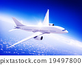 Aircraft Midair Public Transportation Flying concept 19497800