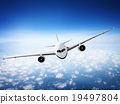 Airplane Skyline Horizon Flight Cloud Concept 19497804