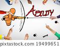 Ability Talent Strength Archery Aim Concept 19499651