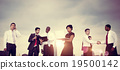 Business People New York Meeting Concept 19500142