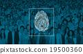 Fingerprint Identification Individuality Investigation Concept 19500360