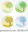 Four seasons - spring, summer, autumn, winter 19506179