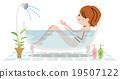 洗澡 沐浴 人 19507122