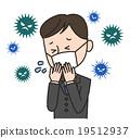 病毒 寒冷 感冒 19512937